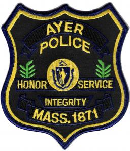 Ayer Police Department Patch