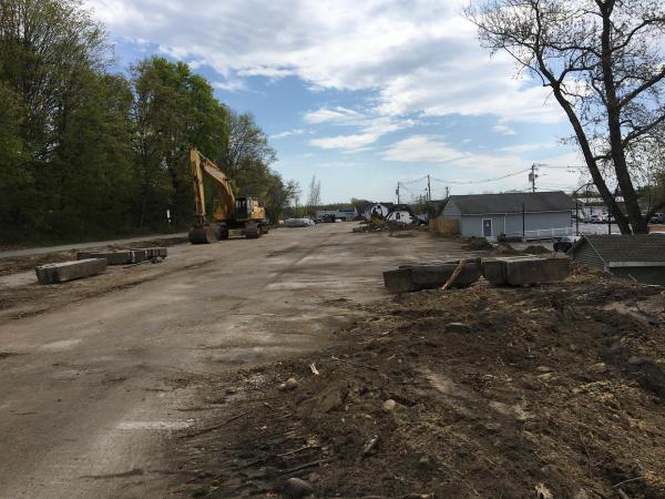 Construction Begins on Parking Deck