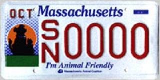 Animal Friendly License Plate